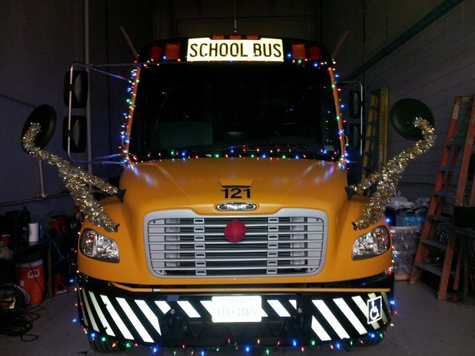 Texas school bus given award in recent christmas parade