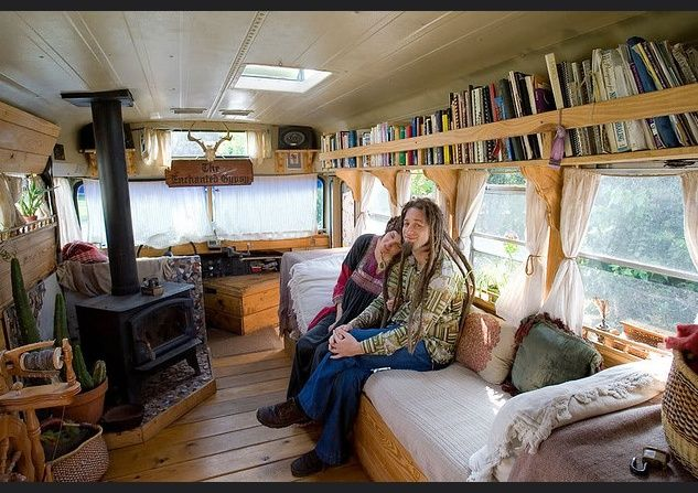 Five Converted Buses Anyone Would Love To Live In - American