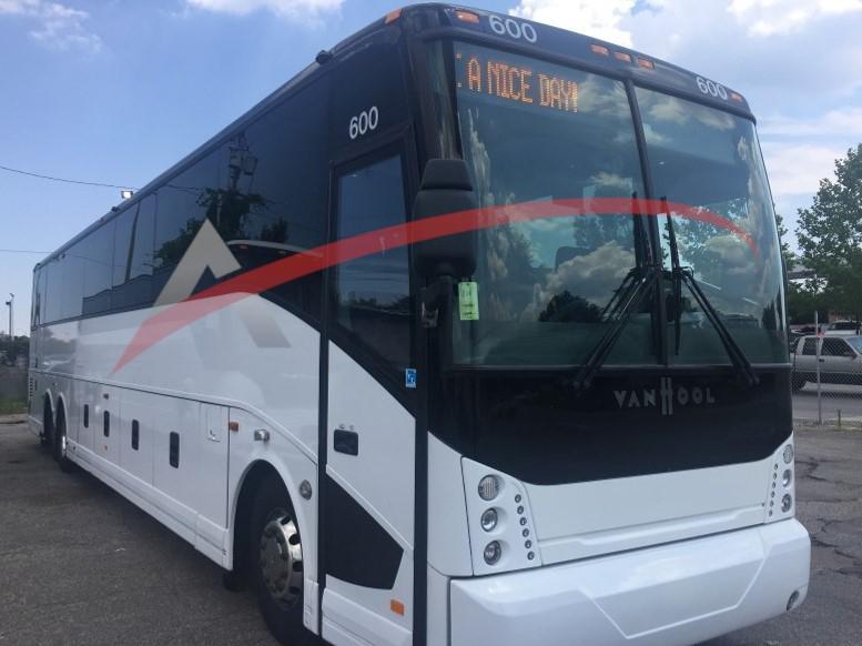 2015 Van Hool 57 Passenger Coach bus