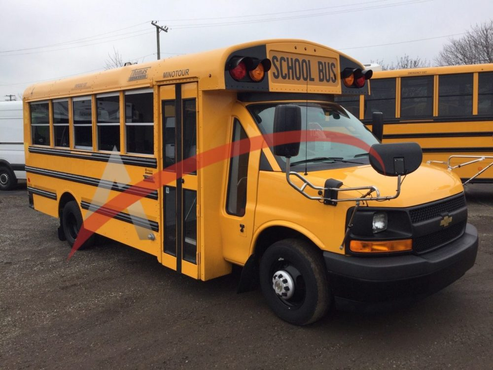 2019 Chevy Thomas Minotour 30 Passenger School Bus