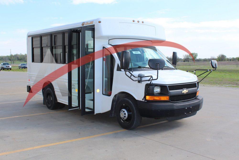 Shuttle Bus 2014 Chevy Collins 14 Passenger – 3064